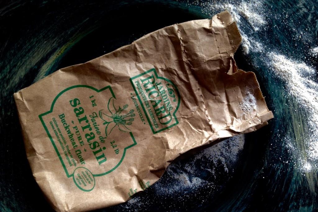 muffins à la farine de sarrasin sans gluten