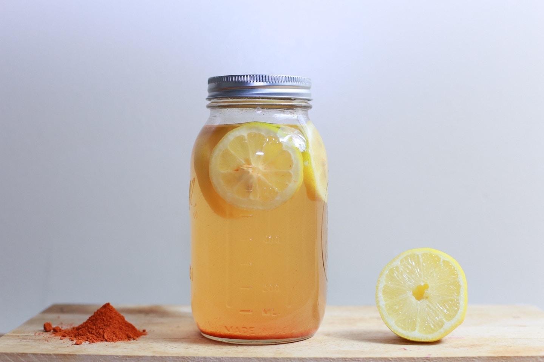 Grippe cayenne citron