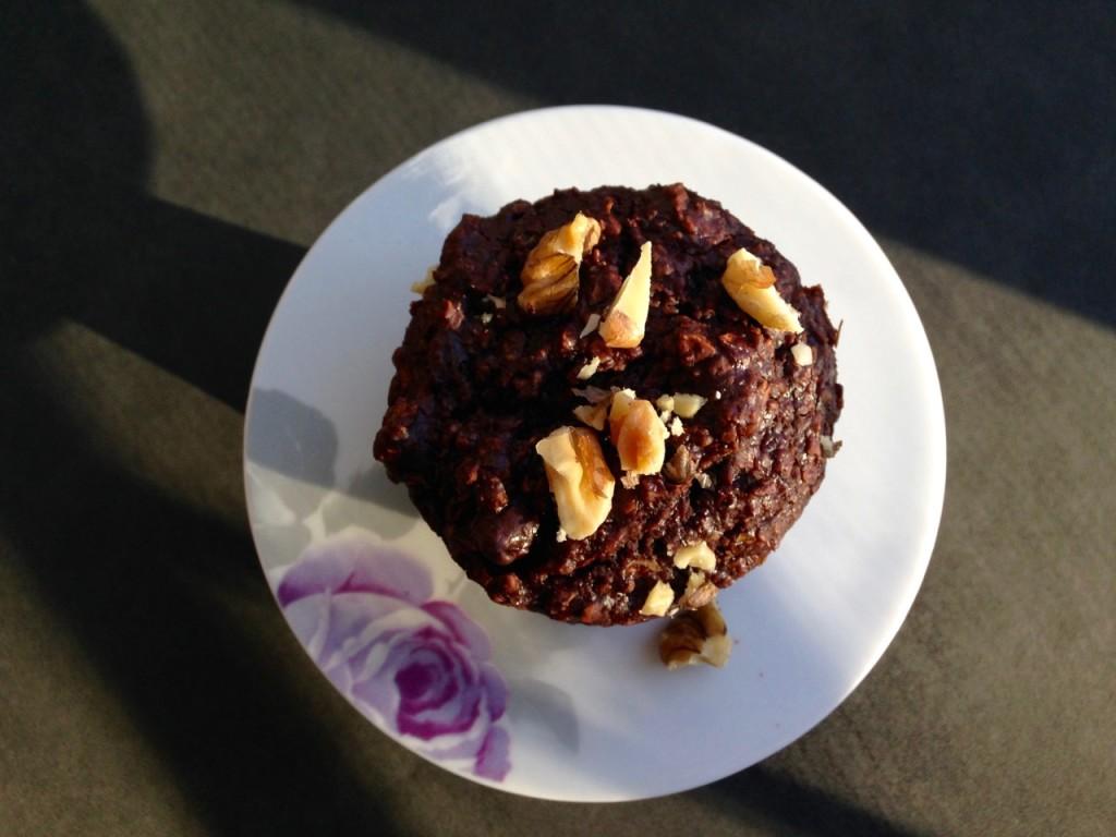 muffins 2 bouchées choco-zucchinis