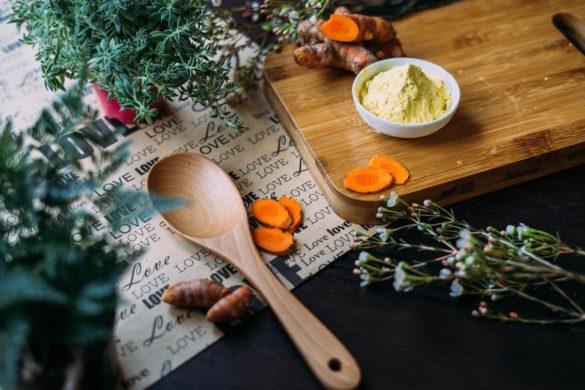 Produits antigrippe herbes ail poivre