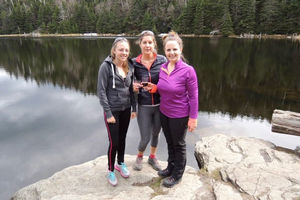 randonnée mont Sutton lac