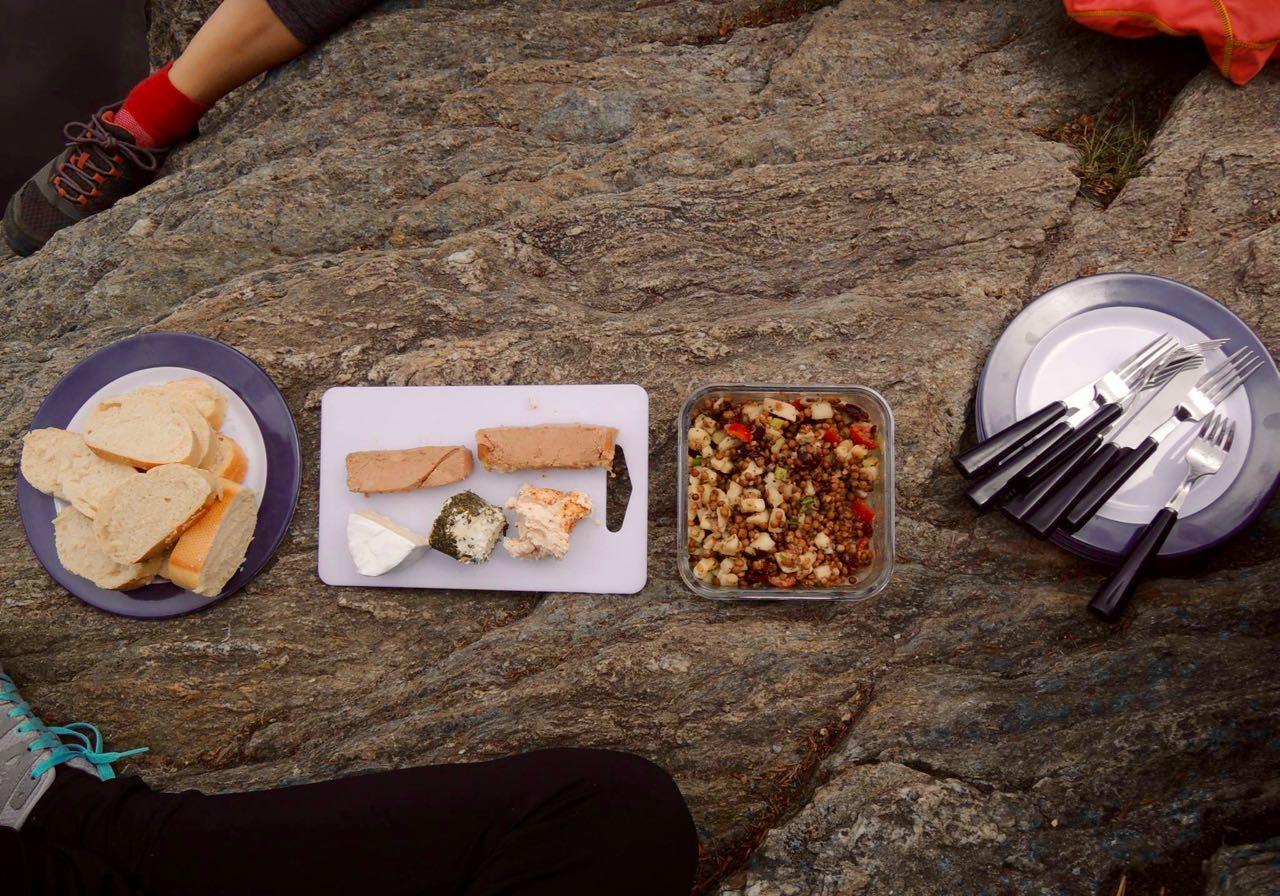 randonnée et souper