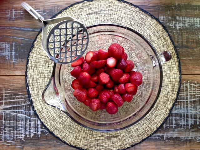 confitures de fraises sans cuisson
