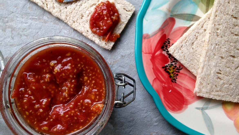 confiture de tomates aux parfums d'orient