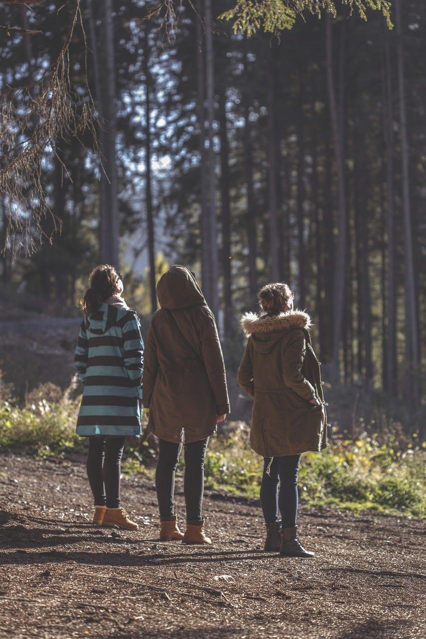 Femmes automne novembre