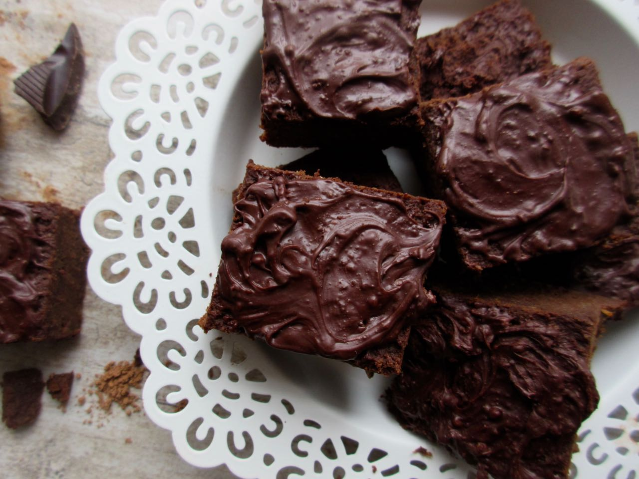 brownies aux patates douces intenses