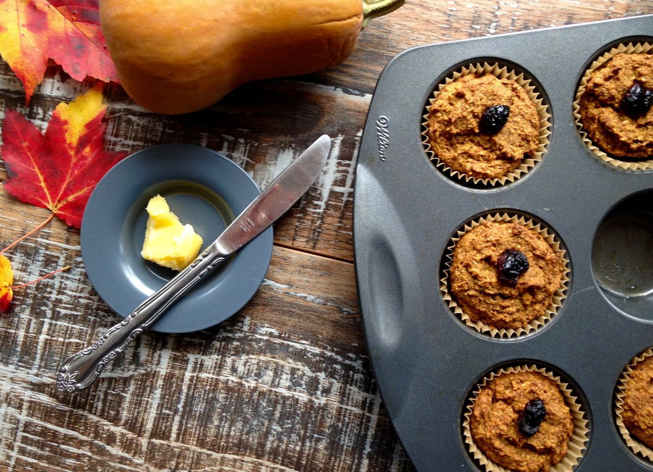 Muffins courge butternut moins un