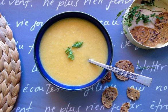 potage de courge butternut