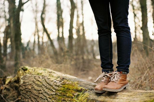 stress marcher forêt