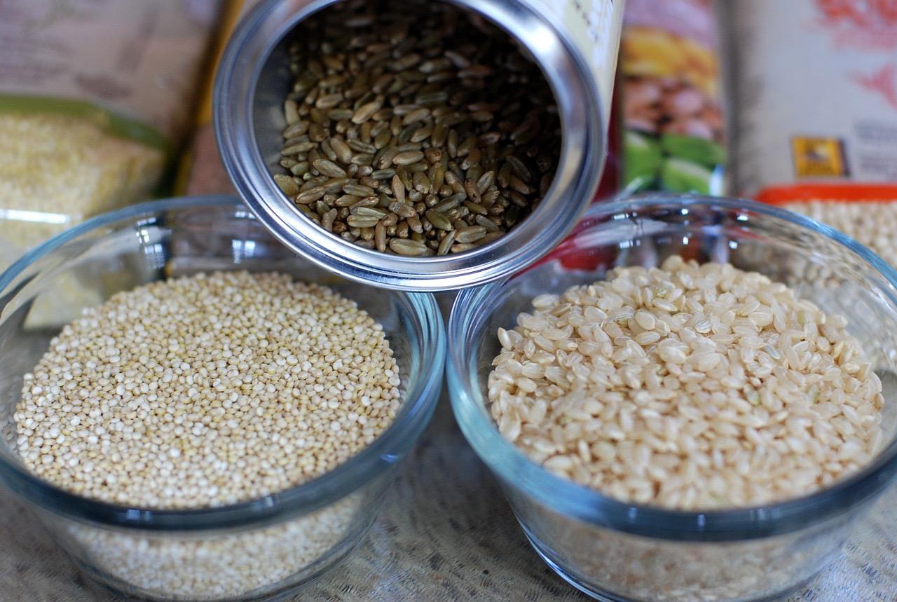 riz et quinoa