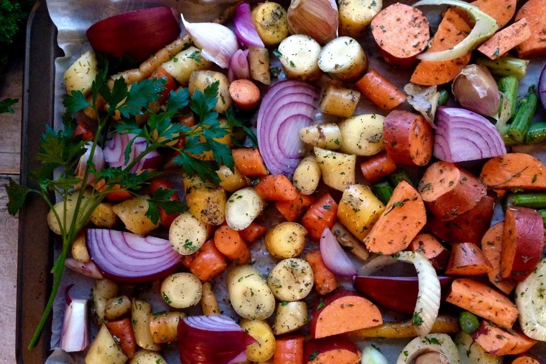 tian de légumes d'automne