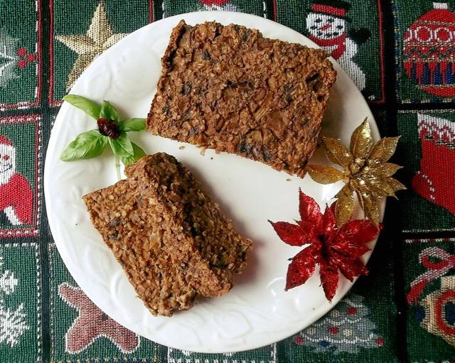 pain végé table de Noël