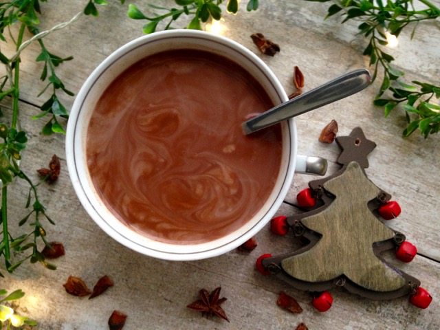 chocolat chaud tasse