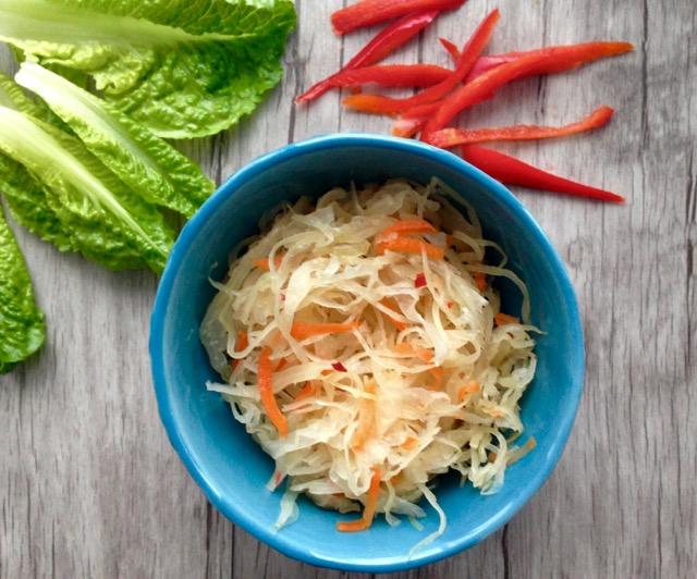 Kimchi recette de Valérie