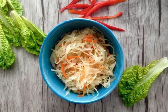 kimchi: chou mariné épicé