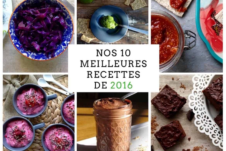 Meilleures recettes 2016
