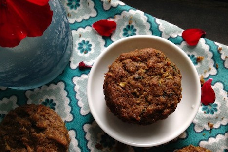 Muffins zucchinis