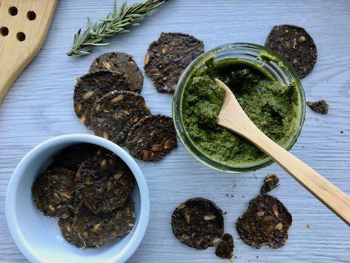 Pesto kale sans fromage recettes d'été