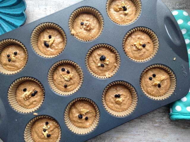 muffins farine de sarrasin