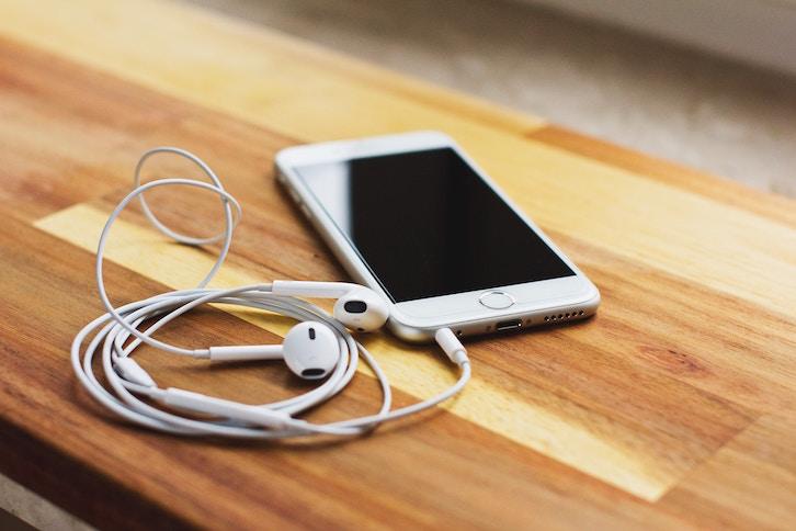 coureuse musique écouteurs