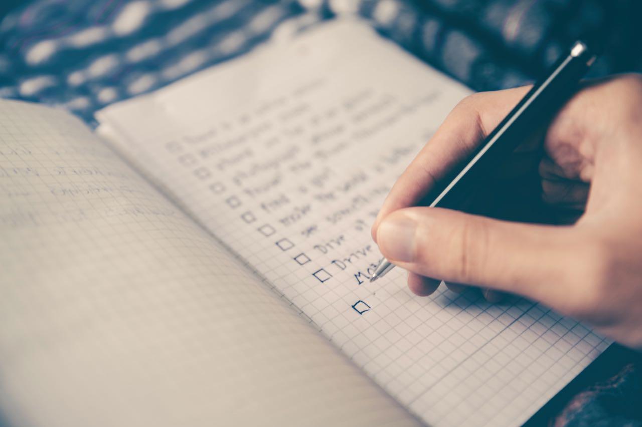créer son année liste papier crayon
