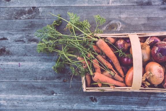 légumes variés