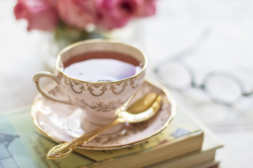 thé jasmin tasse