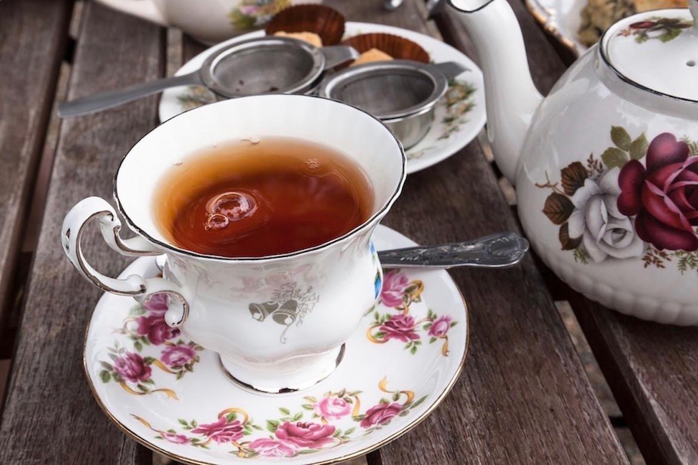thé au jasmin tasse