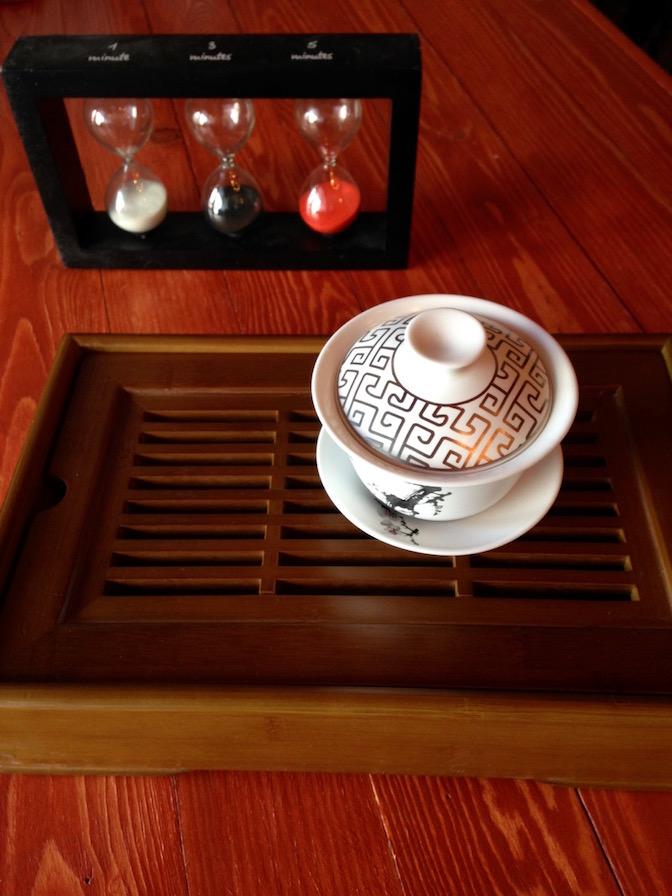 thé jaune gaiwan