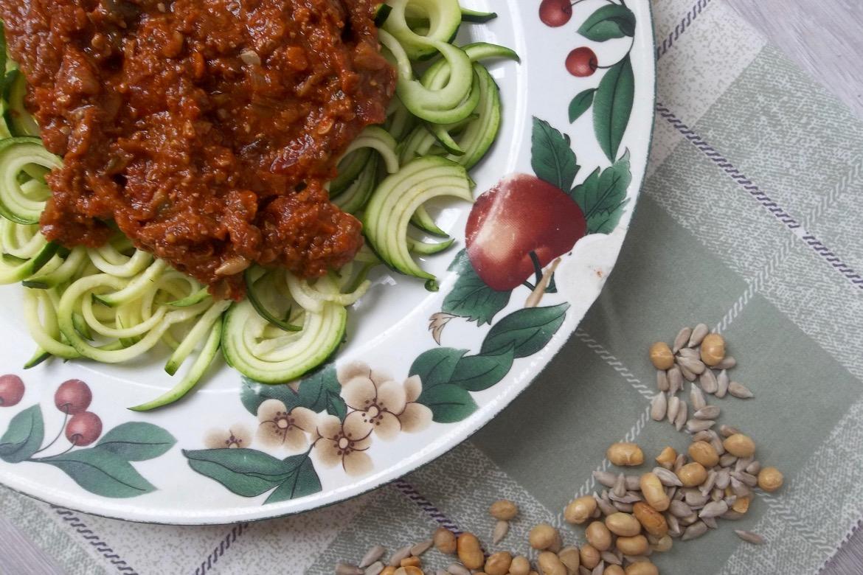 sauce spaghetti végétarienne