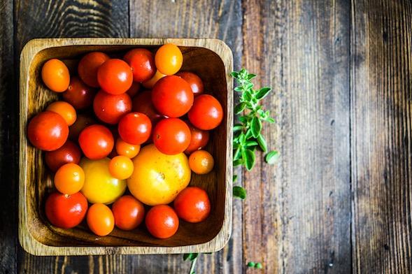 panier tomates bio