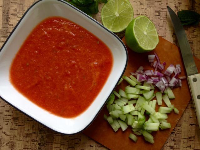 gaspacho melon d'eau