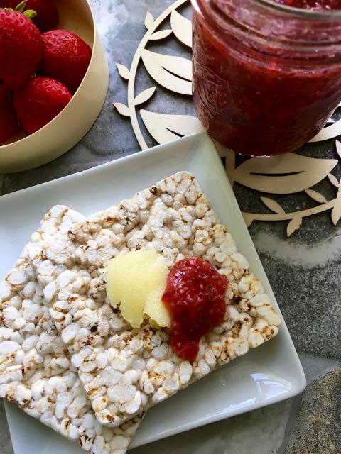 confiture fraises sans cuisson