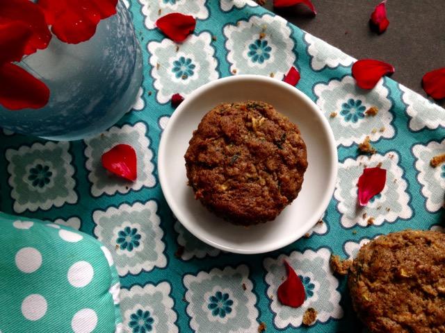 muffins de zuchinis
