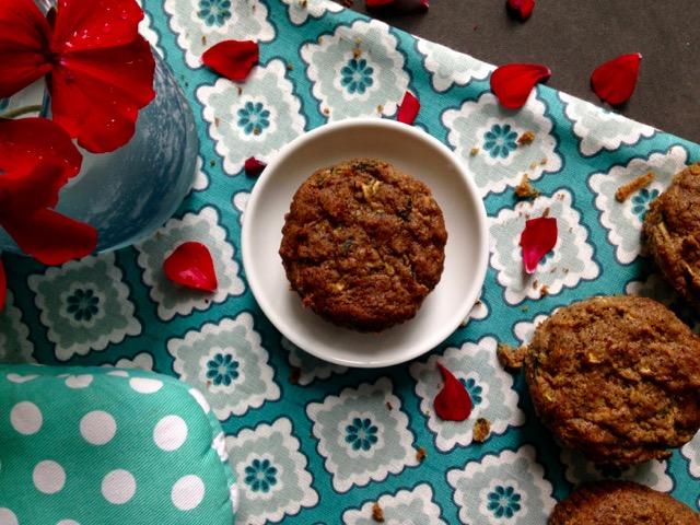 muffin de zucchinis sans-gluten