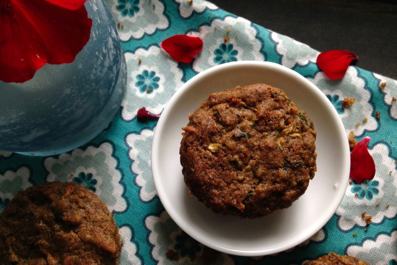 muffins aux zucchinis sans gluten