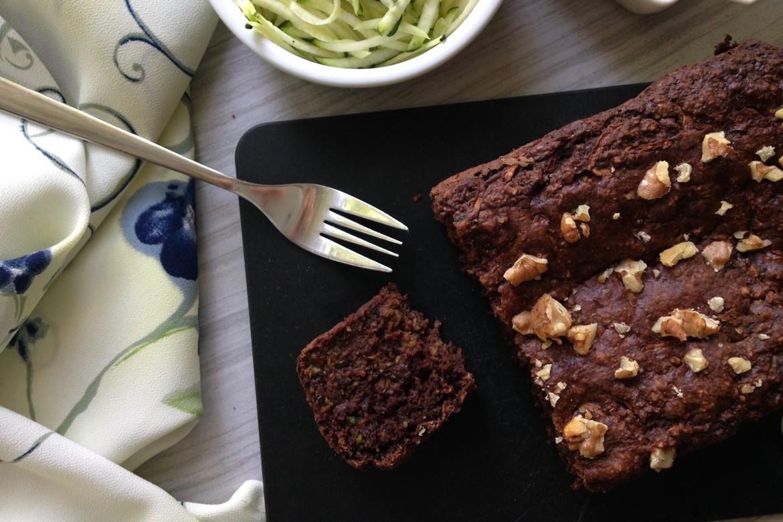 Pain-brownie aux zucchinis et à l'avoine