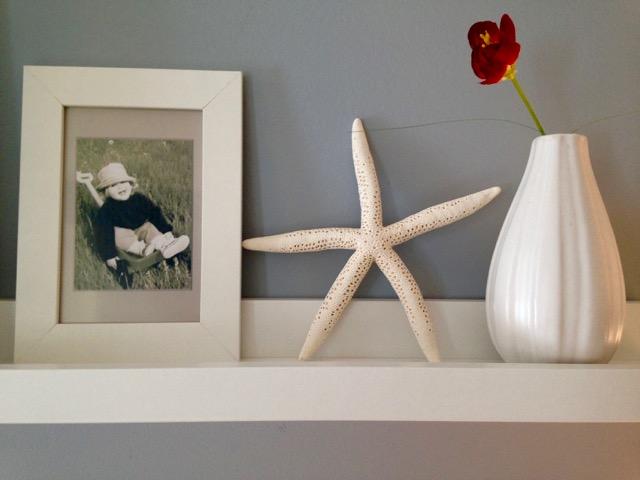 chambre cadre étoile de mer
