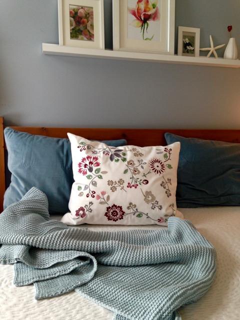 matelas bleueco sur lit