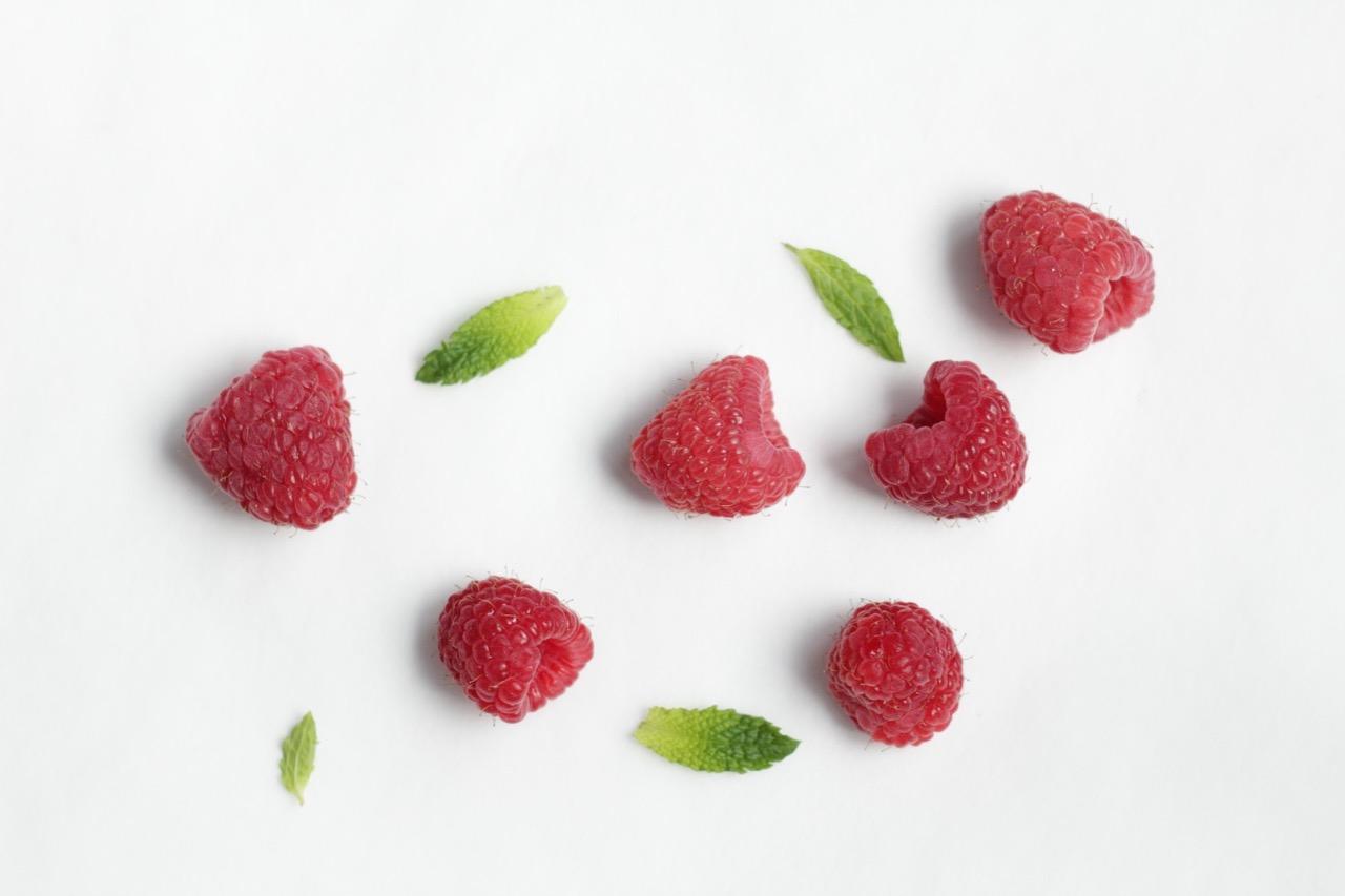 réduire le sucre framboises