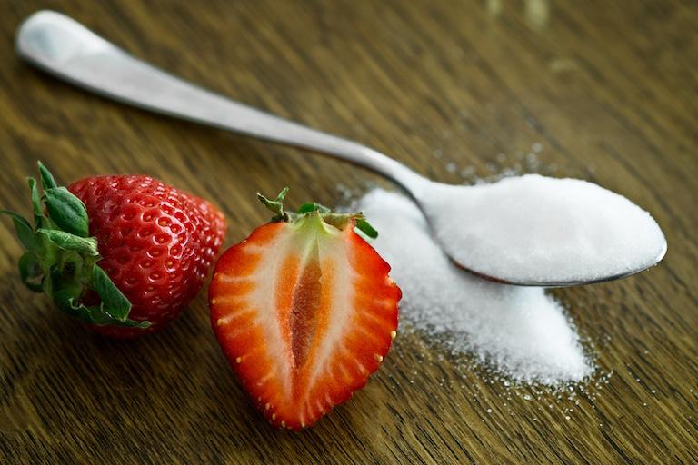 fraises sucre