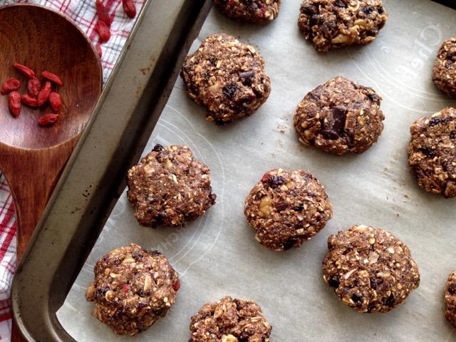 boules biscuits chocolat sans gluten