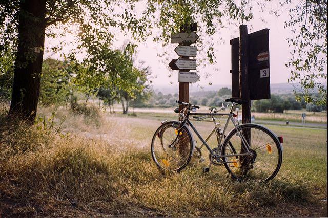 bonheur à vélo