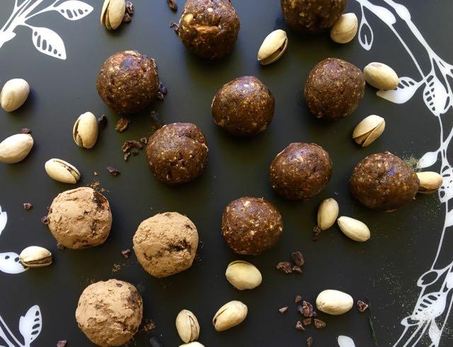 boules d'énergie cacao