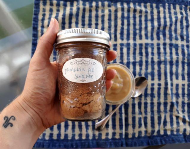épices pouding citrouille 1