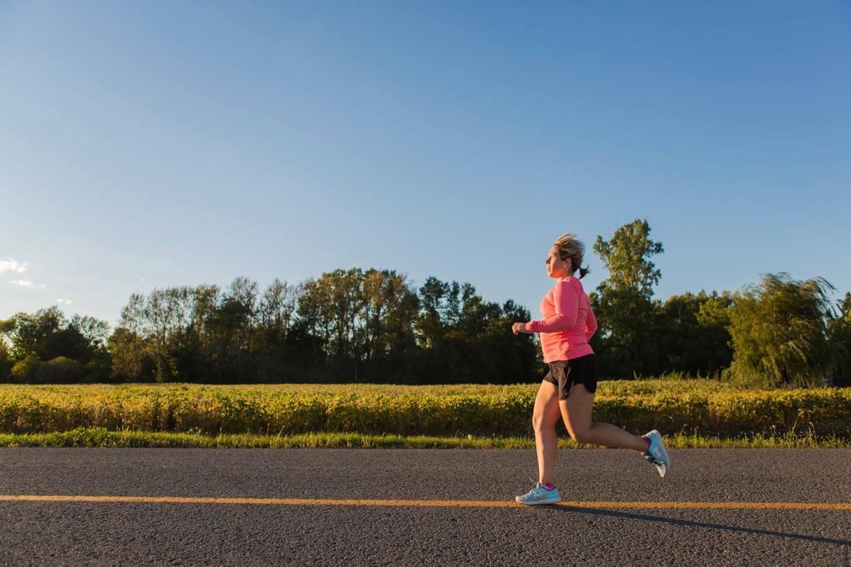 femme course santé des femmes