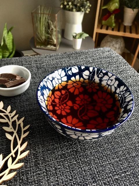 thé rooibos rouge bol