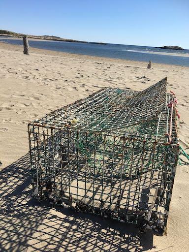 Popham Beach sur côte du Maine