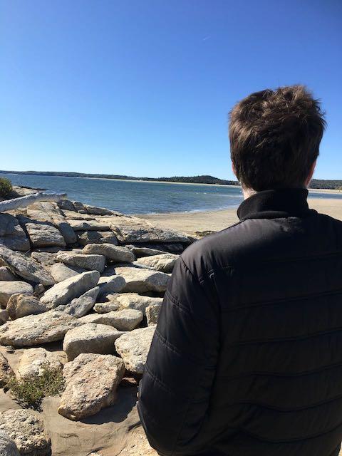 popham beach Maine view