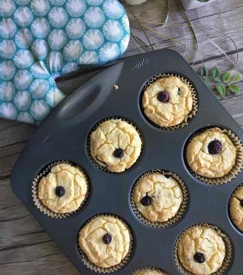 muffins pour confinement